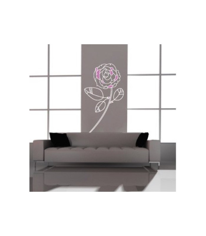 vinilo decorativo Rose