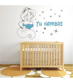 Vinil infantil decoratiu Pricesa