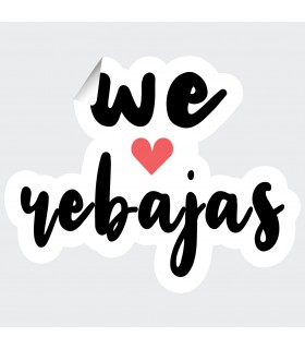 We love Rebajas